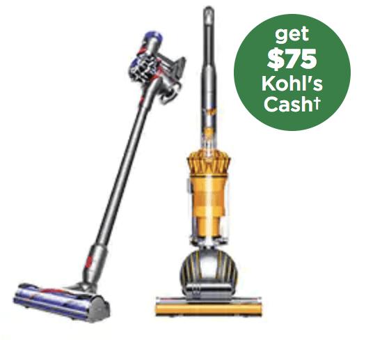 Kohls Dyson Vacuum Deals