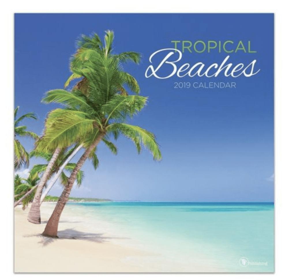 Beaches Calendar Sale