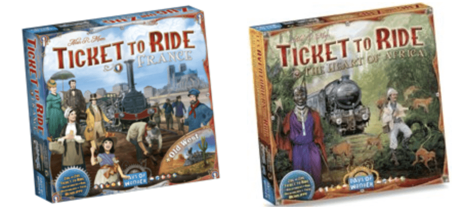 Ticket to Ride Sales
