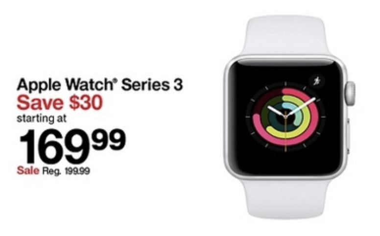 Target Apple Watch on Black Friday
