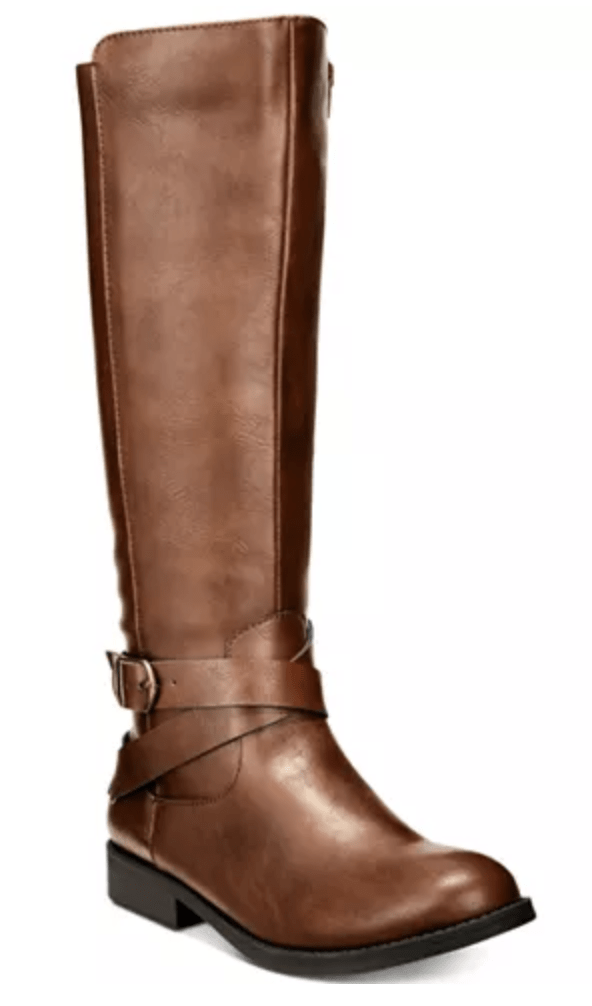 Womens Brown Riding Boots