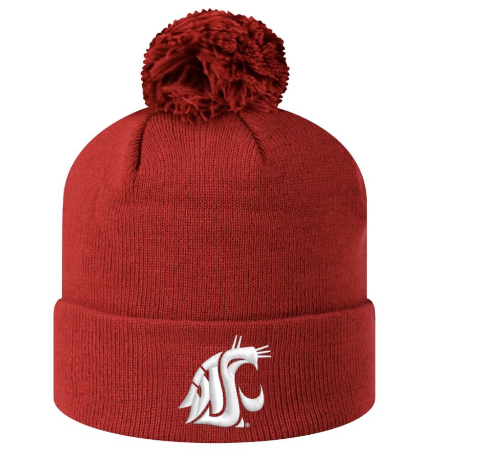 WSU Cougars Beanie Hat