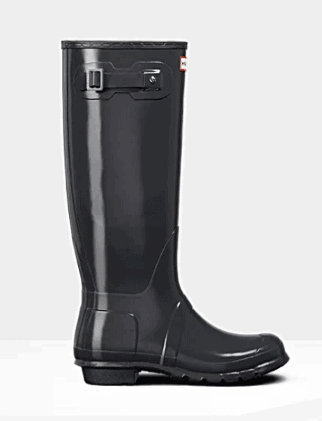 Tall Glossy Hunter Boots