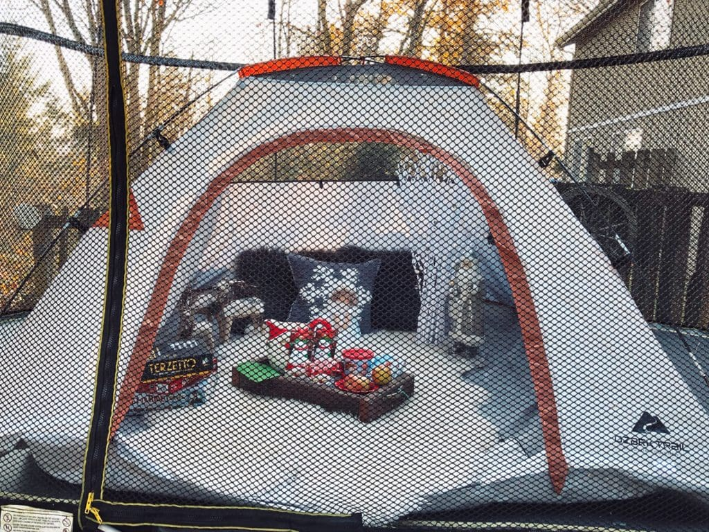25 Days of Christmas with Springfree Trampolines – Make a Winter Wonderland Outside for Kids!