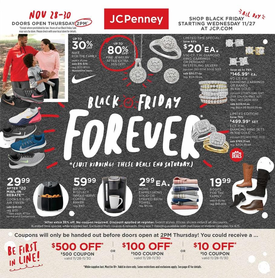JCPenney Black Friday Deals for 2019! LIVE NOW ONLINE!