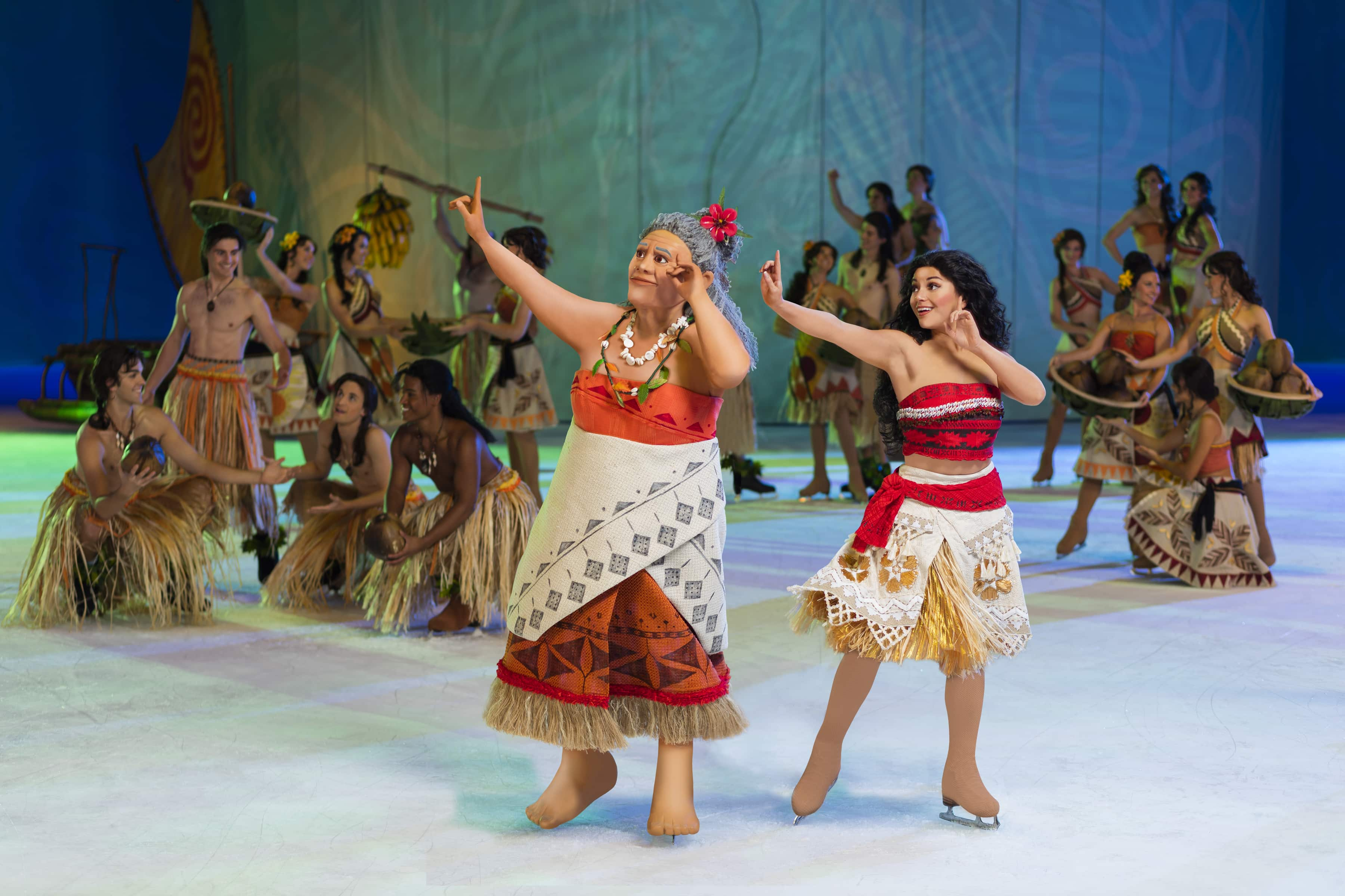 Moana in Disney on Ice's Dare to Dream Show