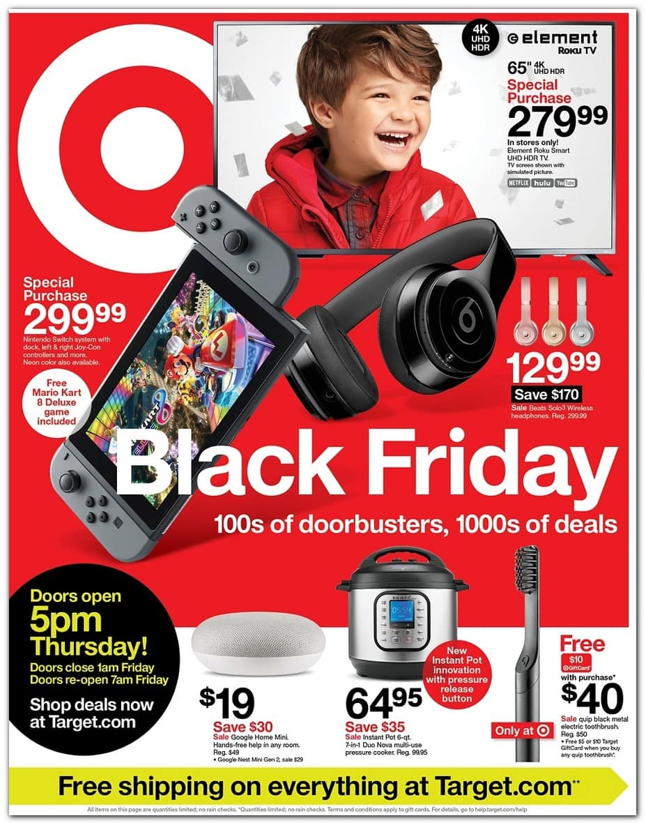 Target Black Friday Deals For 2019 Black Friday Deals Live Now For Red Card Holders Thrifty Nw Mom