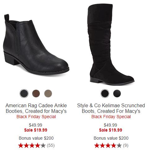 d51f1db3e38 BOGO Boot Sale At Macy's Cyber Monday Sale