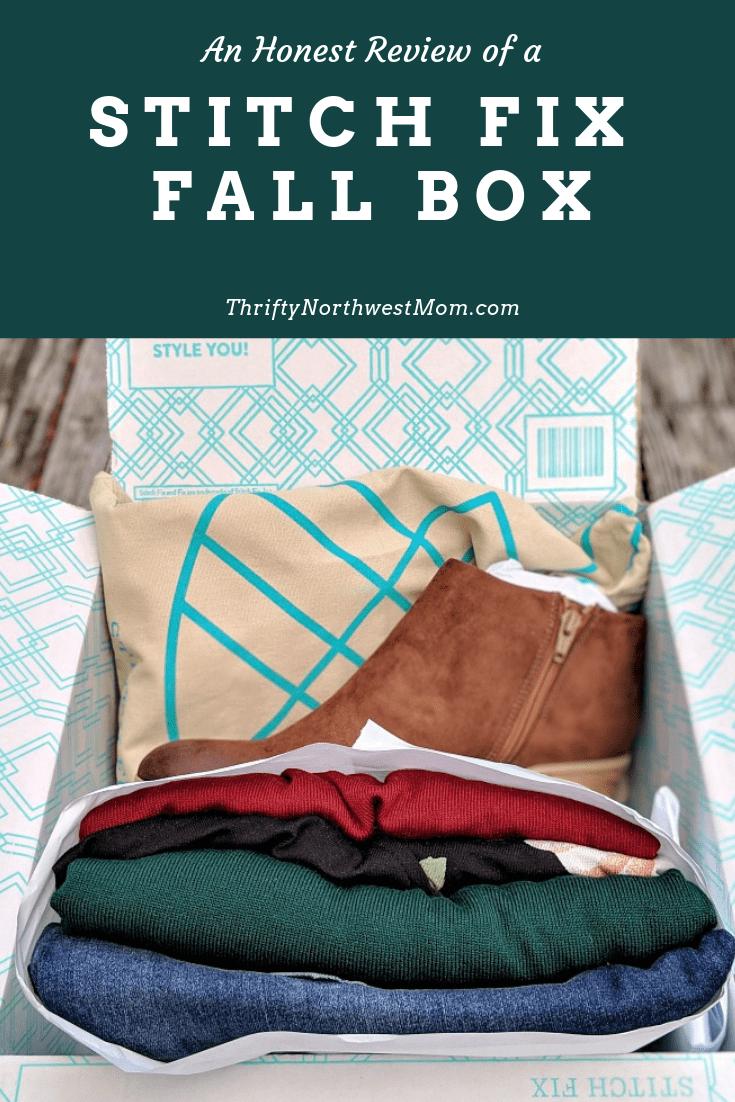 An honest review of a Stitch Fix Fall Box for Women
