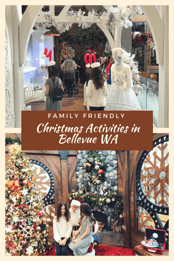 Family Friendly Christmas Activities in Bellevue WA