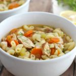Chicken Noodle Soup to keep your healthy during winter