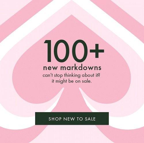 100+ New Markdowns at Kate Spade + FREE Shipping!