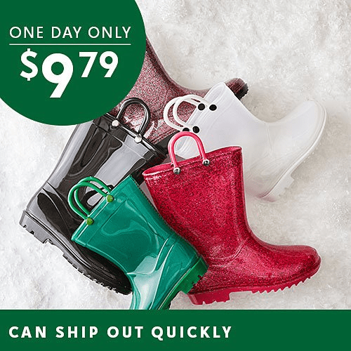 Kids Rain Boots On Sale – As Low As $7.99!