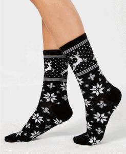 Norwegian Reindeer Socks