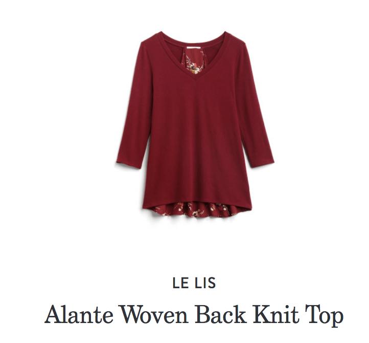 Stitch Fix Alante Knit Top
