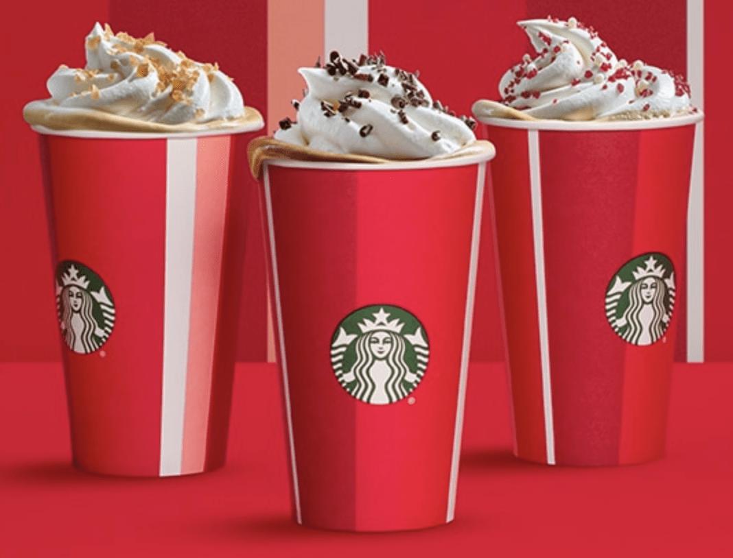 Starbucks Holiday Drinks Happy Hour