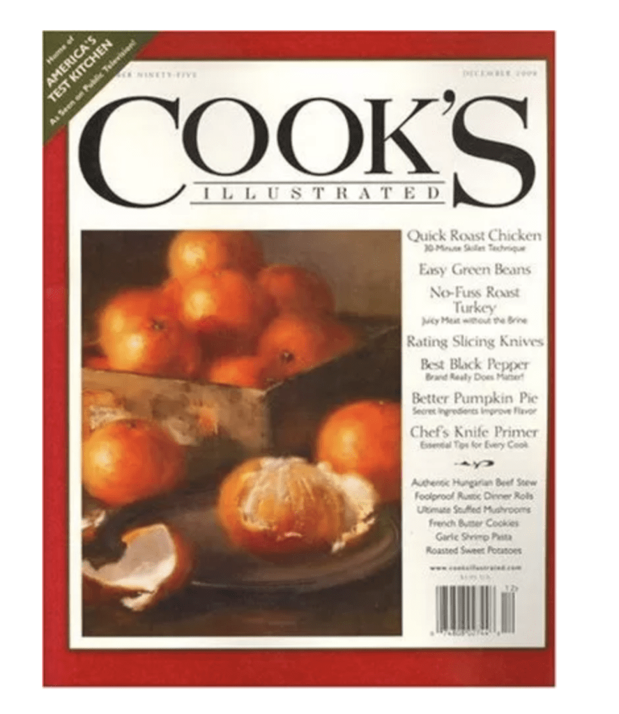 Cook's Illustrated Magazine Subscription – $8.99 a Year! (74% Off)