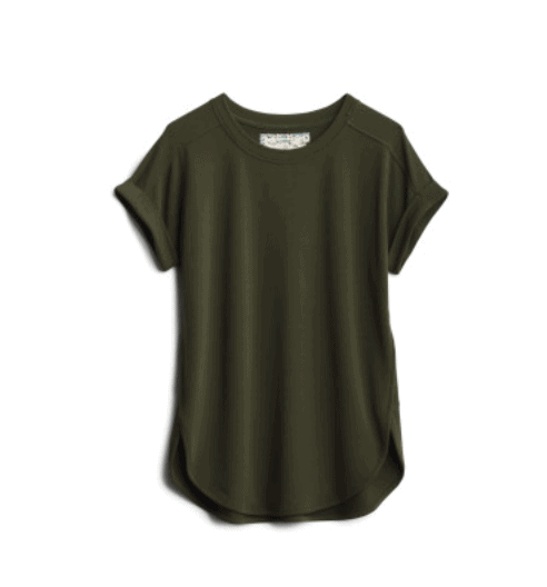 Olive Green Knit Top from Stitch Fix