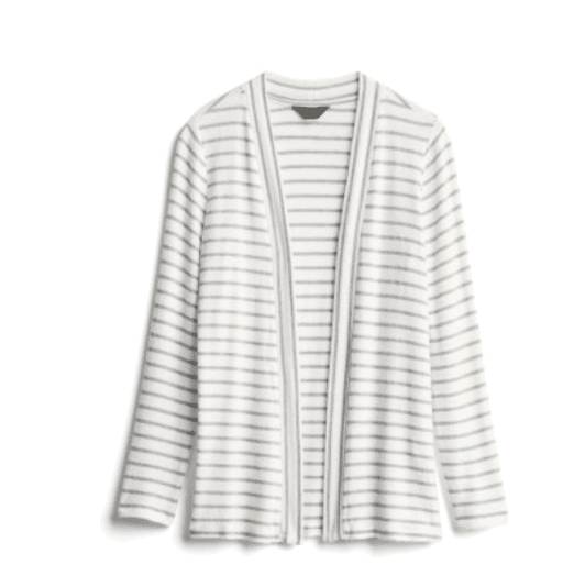 White & Grey Stripe Sweater from Stitch Fix