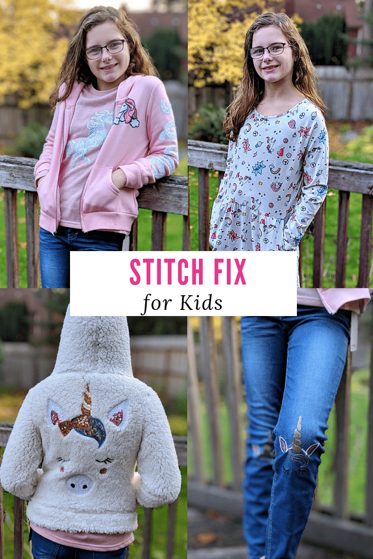 Stitch Fix Kids - Unboxing our First Box