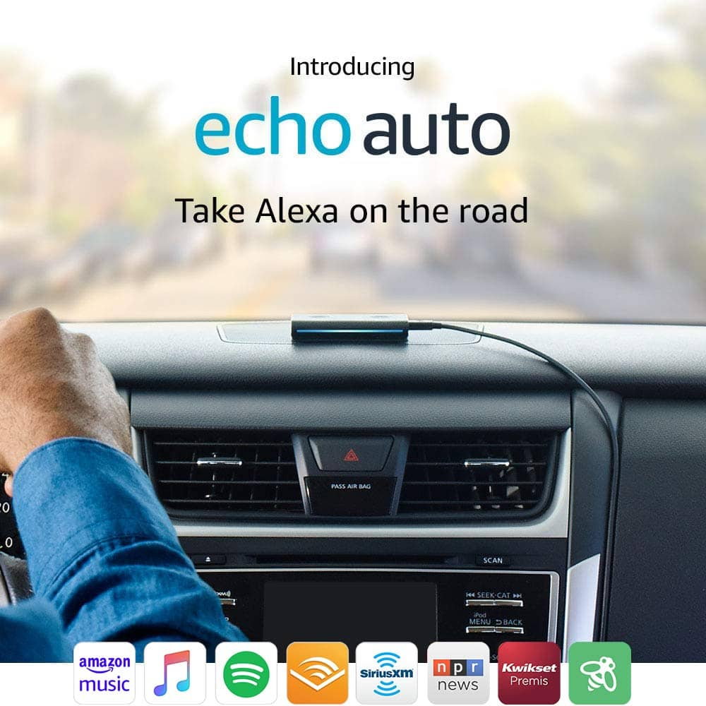 Amazon Echo Auto (An Echo For Your Car) – On Sale Right Now!