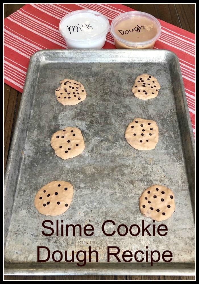 Slime Cookie Dough Recipe (Not Edible, But So Fun To Make)!