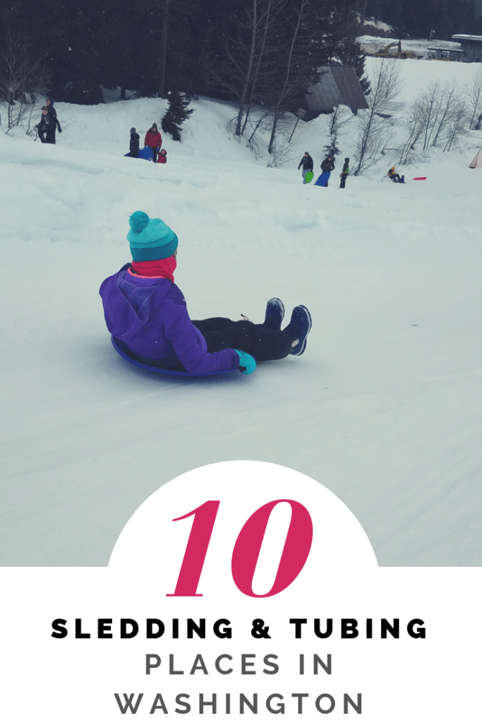10 Top Areas for Sledding and Tubing in Washington for Families