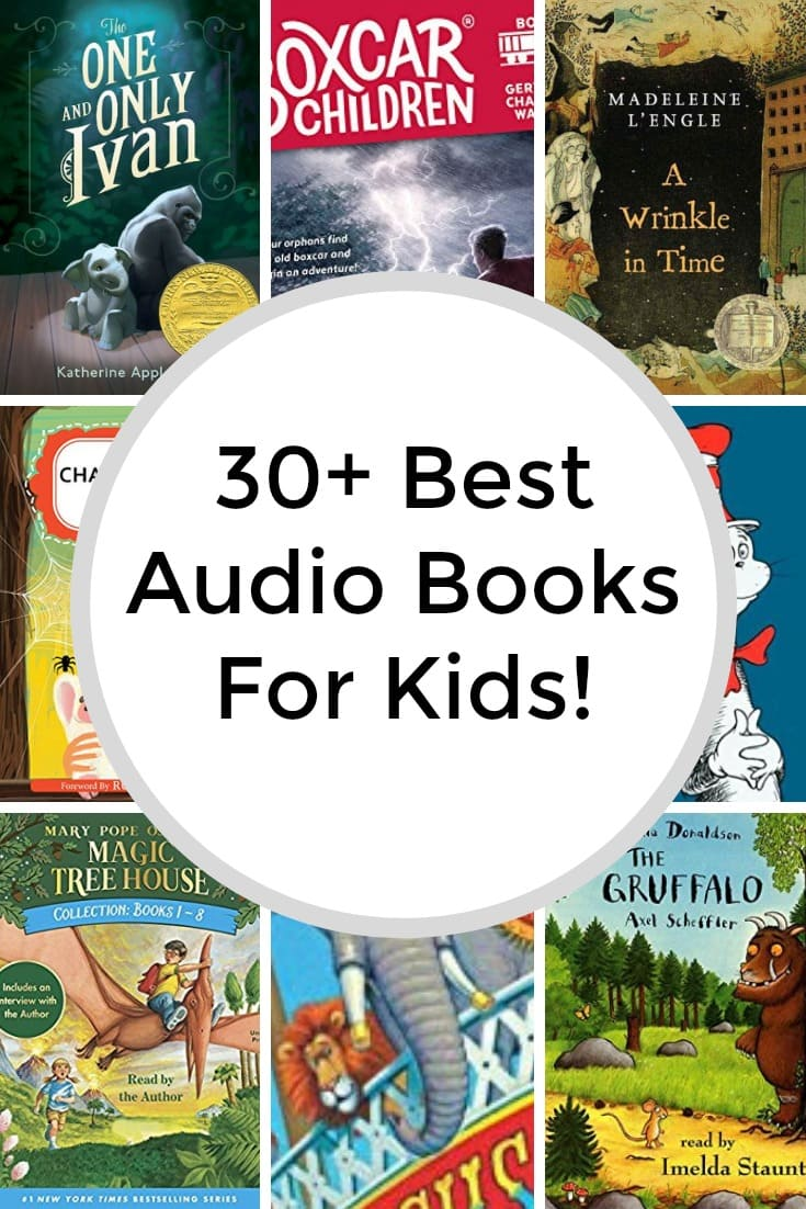 30+ Best Audio Books for Kids