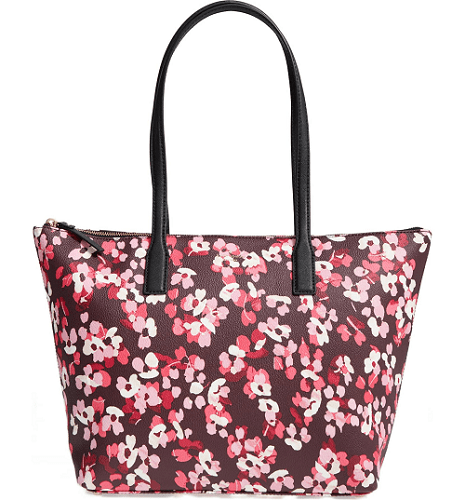 Kate Spade Nyssa Coated Canvas Large Tote
