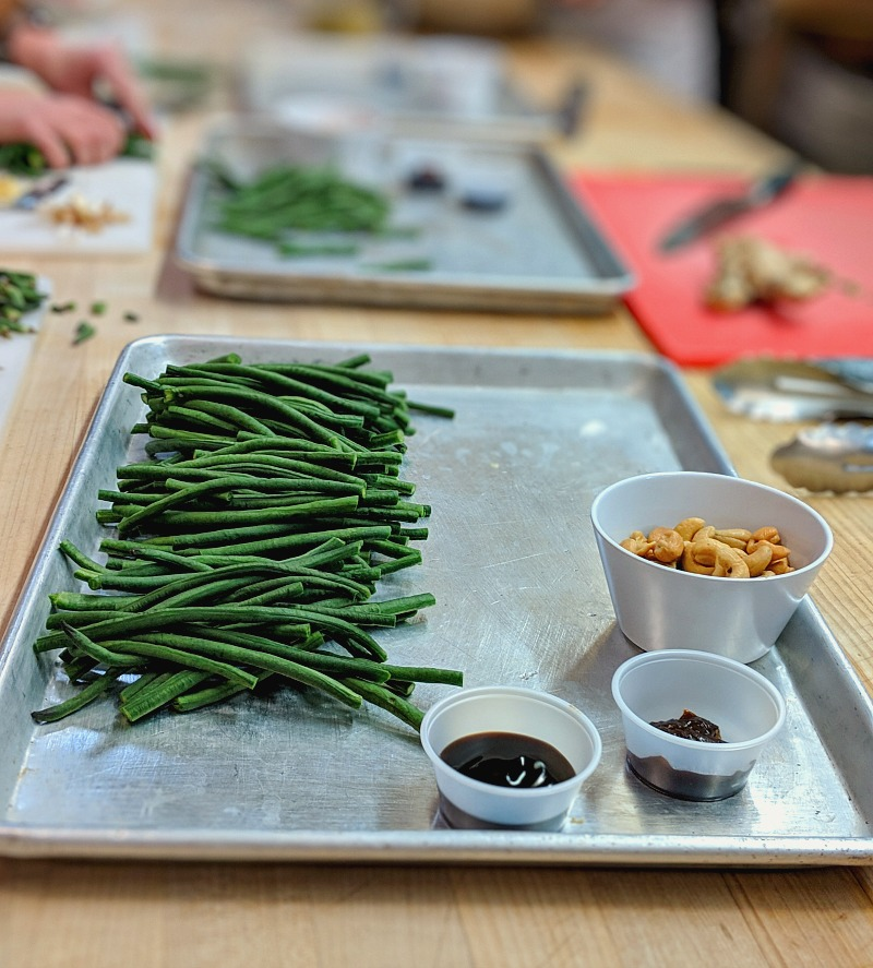 Making of the Chinese Long Beans Recipe