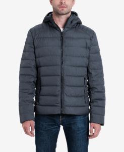 Michael Kors Men's Down Packable Puffer Puffer Coats