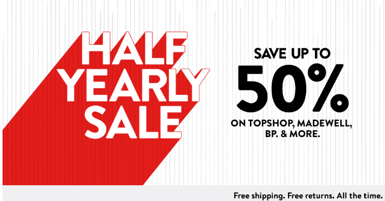 318492509264 Nordstrom Half Yearly Sale - Up To 40% OFF!
