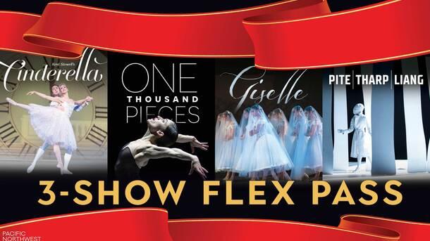 Pacific Northwest Ballet: 3 Show Pass Discount Tickets – $99