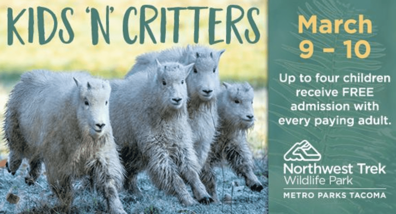 Northwest Trek Kids 'n Critters