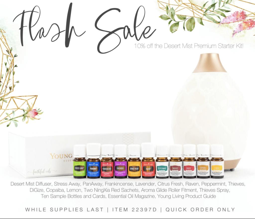 Essential Oils Sale – Special Premium Starter Kit Sale – 10% Off