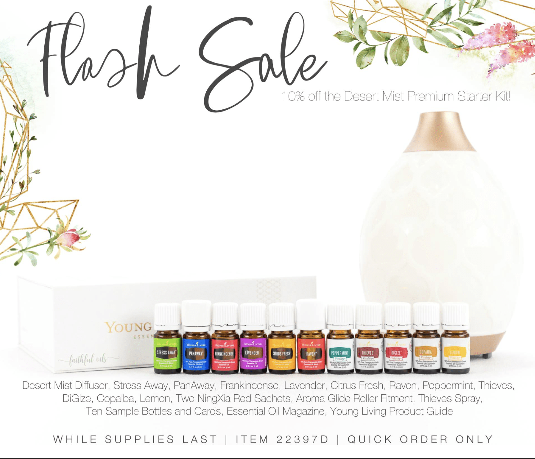 Young Living Essential Oils Sale
