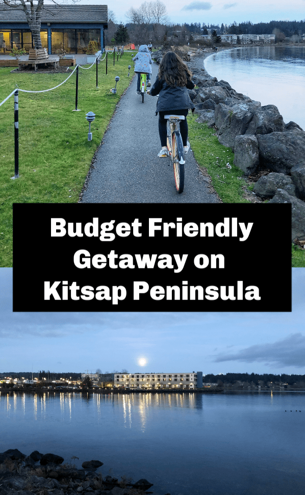 Check out this budget friendly getaway on the Kitsap Peninsula in Washington