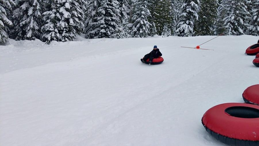 Tubing at White Pass Ski Area