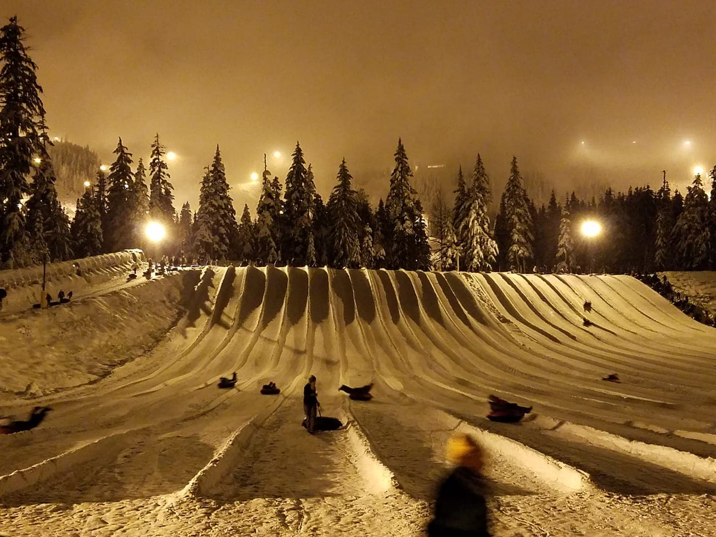 Tubing at Summit at Snoqualmie