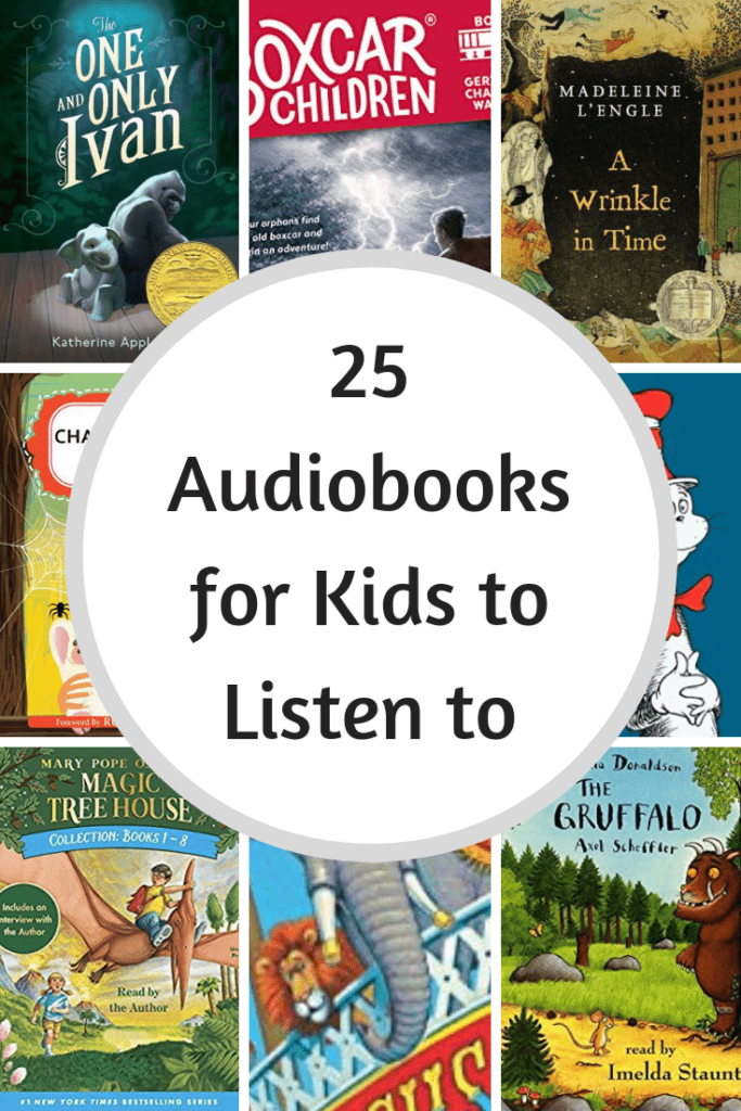 30+  Best Audio Books for Kids + Free Audio Books for Kids & Teens Right Now!