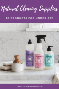 Natural Cleaning Supplies Discounts