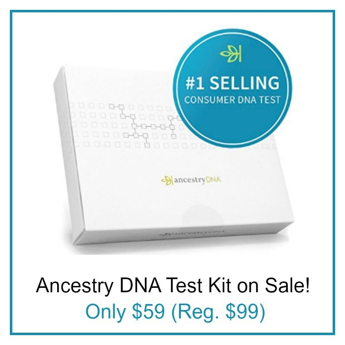 Ancestry DNA Sale $59 (reg $99)!