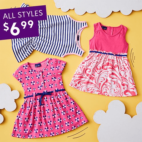 Girls Dresses $6.99! (Today Only)