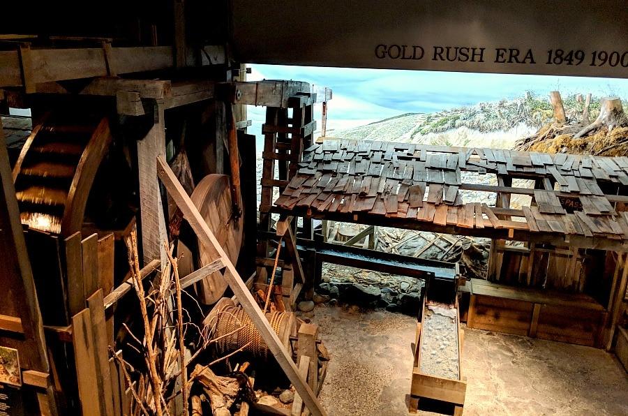 Gold Rush Era Exhibit at Royal BC Museum