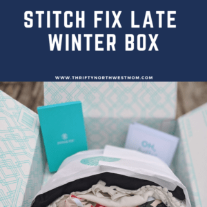 Stitch Fix Late Winter Box for Women