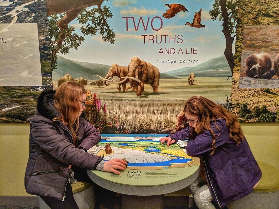 Natural History Interactive Exhibits at Royal BC Museum