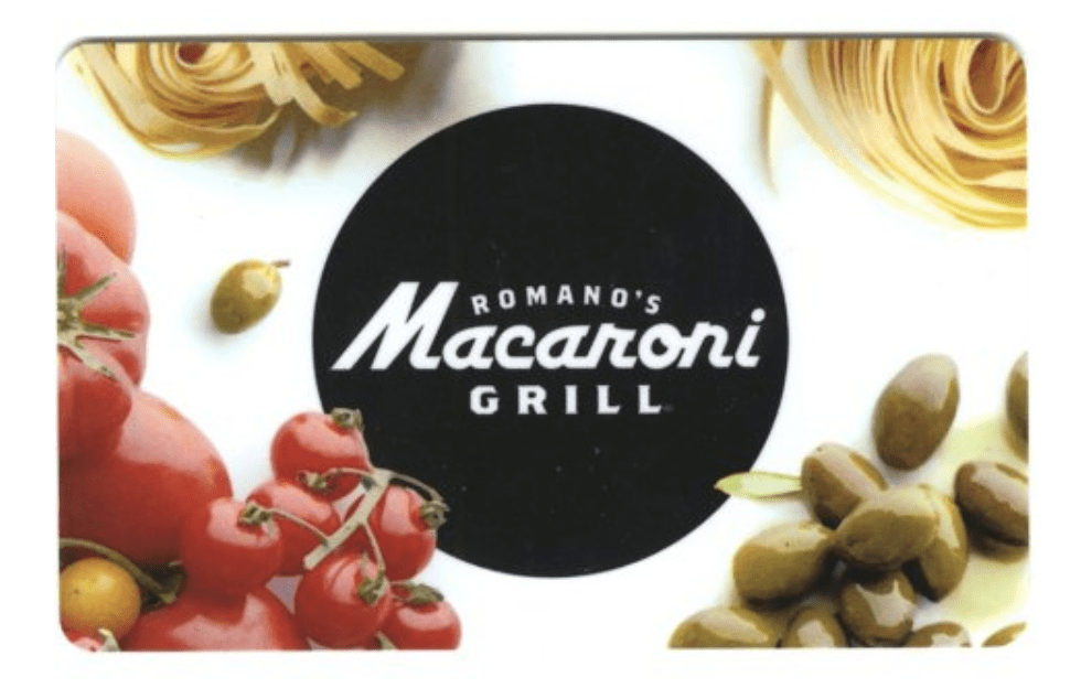 Romano's Macaroni Grill Gift Cards