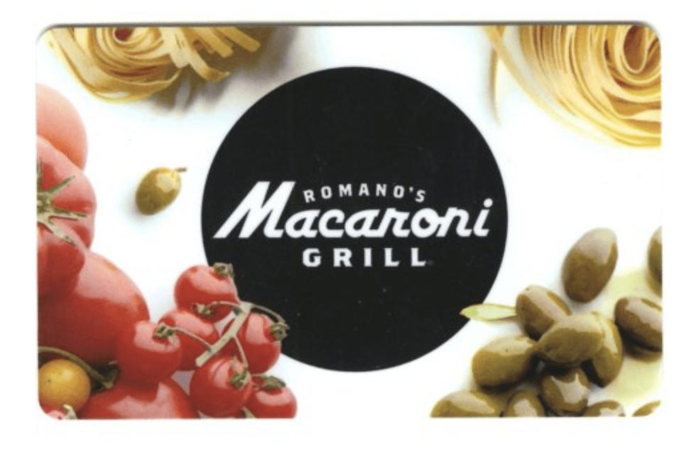 Romano's Macaroni Grill Gift Cards