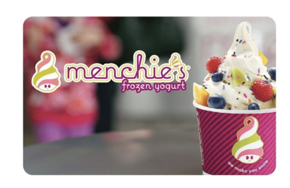 Menchies Gift Card