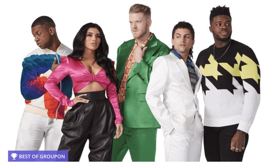 Pentatonix Discount Tickets (at Tacoma Dome) – July 3rd!